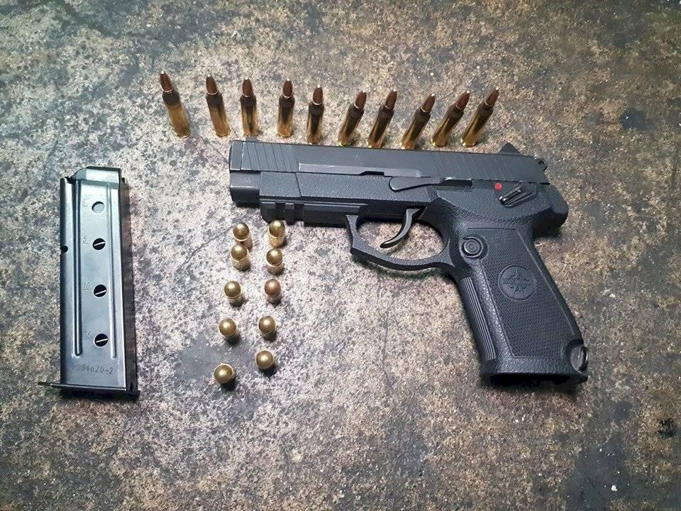 capturados con arma robada en zona 1