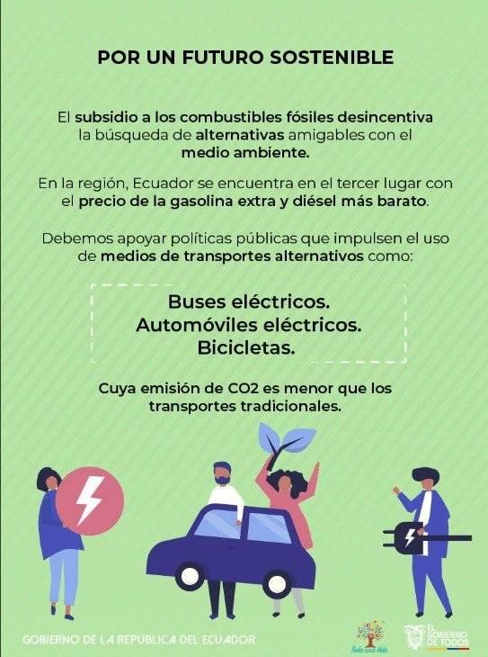 Eliminación de subsidio a los combustibles