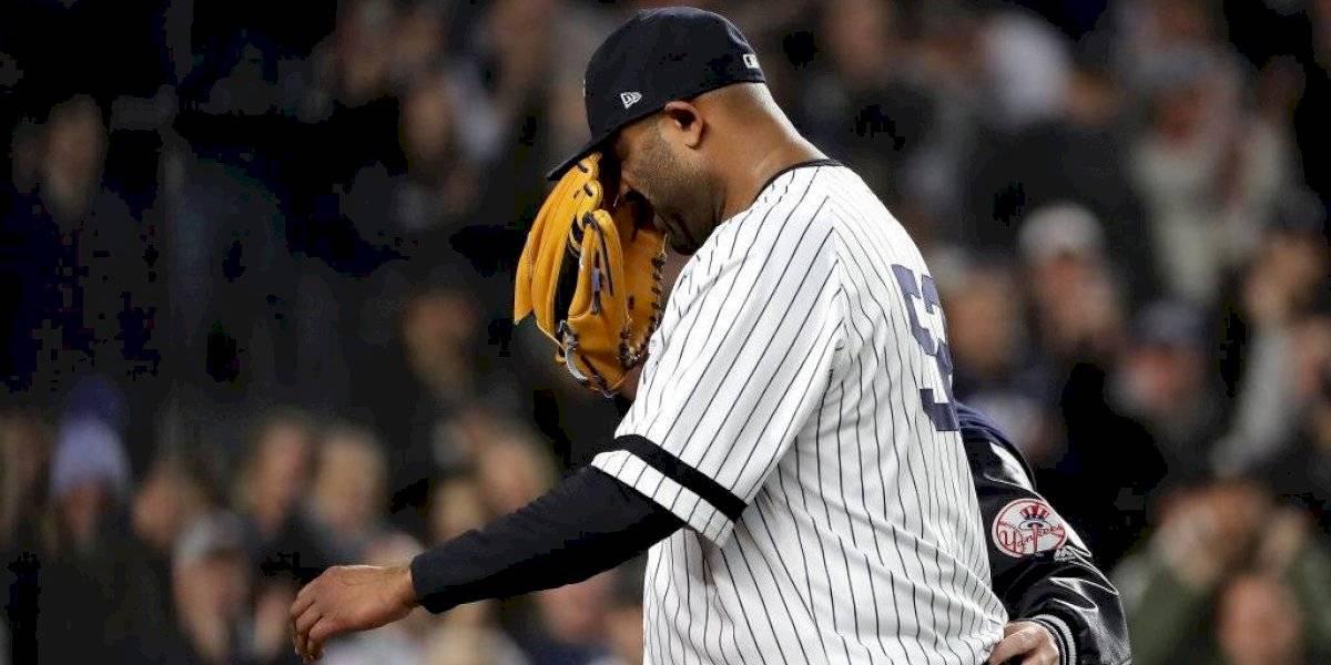 CC Sabathia se despide del béisbol tras 19 años en MLB