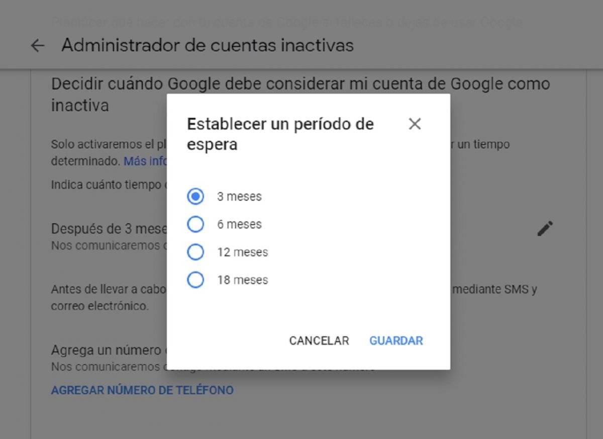 Morir en Google: cinco pasos para desactivar una cuenta inactiva