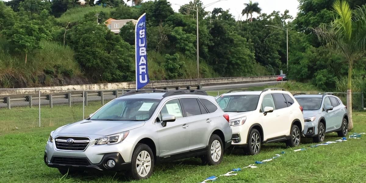Subaru muestra sus tecnologías de seguridad dentro y fuera de la carretera