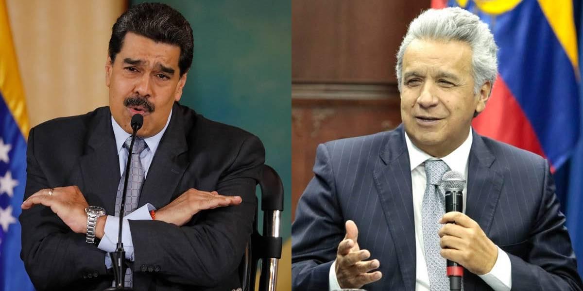 "Lenín Moreno se refirió a Nicolás Maduro como ""el asno que gobierna Venezuela"""