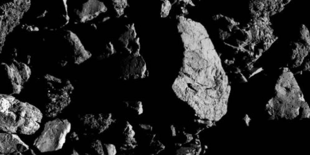 O novo registro do asteriode Bennu divulgado pela sonda OSIRIS-REx da NASA