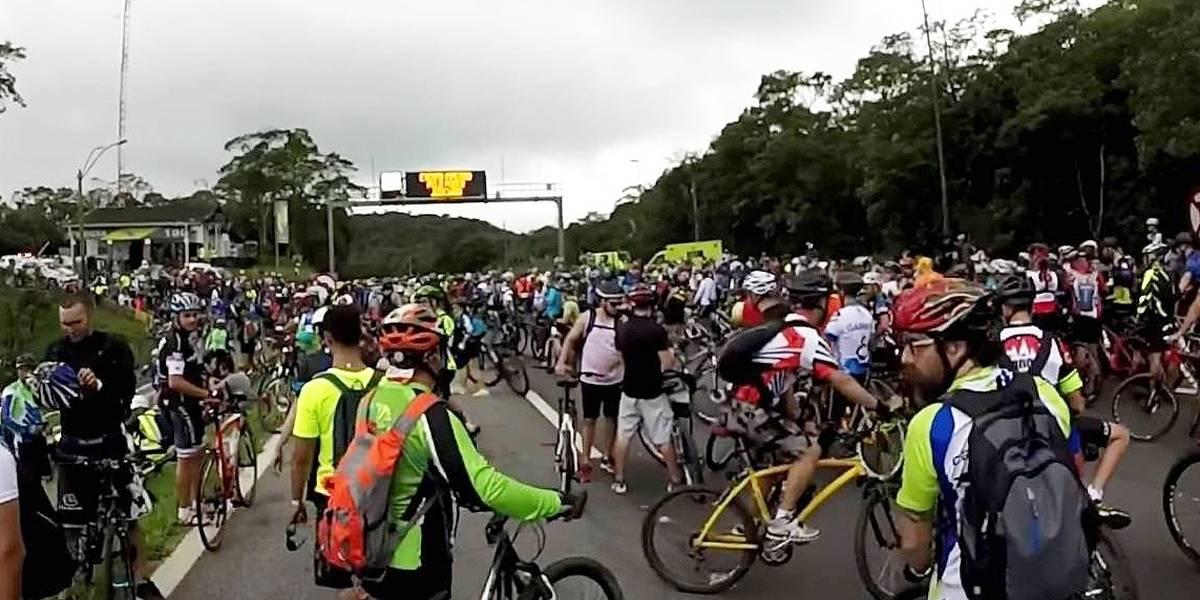 Pedal Anchieta:Inscrições para descida de bike estão abertas