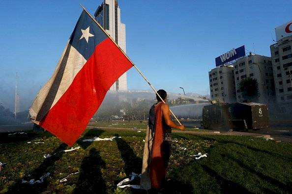 Protestas en Chile Getty Images