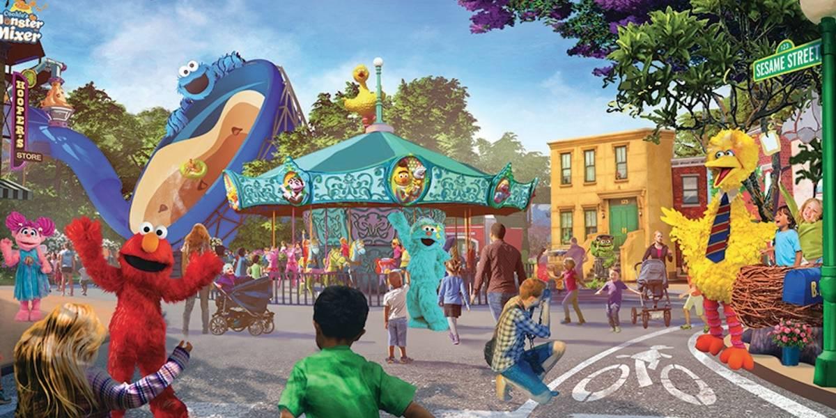 Abre en San Diego segundo parque Sesame Street Place