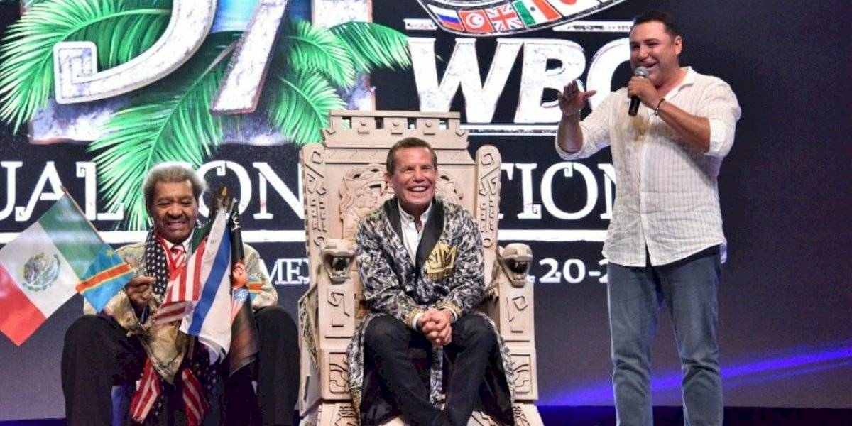 Julio César Chávez es nombrado 'Gran Jefe Maya'