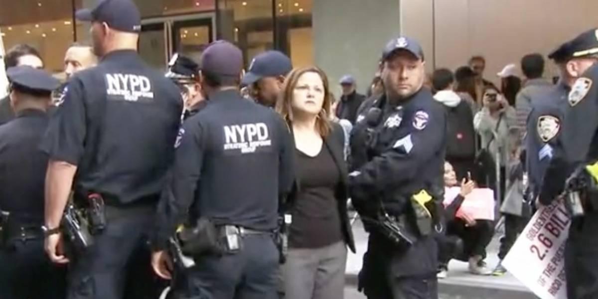 Arrestan a Melissa Mark-Viverito en protesta frente a museo en Nueva York
