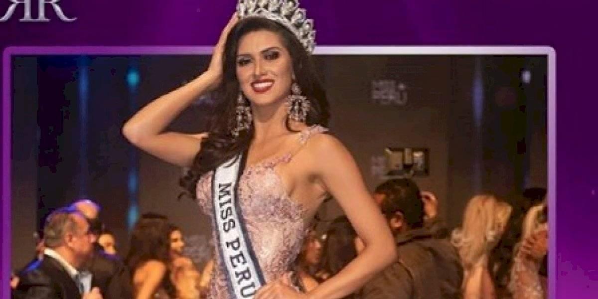 Kelin Rivera se convierte en la nueva Miss Perú
