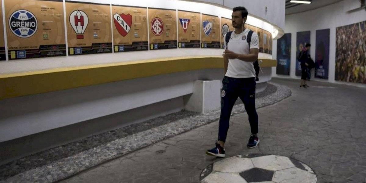 """""""En Chivas nos sentimos bien con Tena"""": Oswaldo Alanís"""