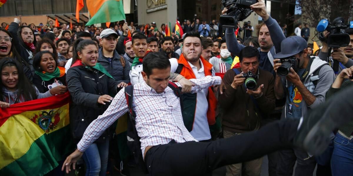 Preparan paro y denuncian fraude electoral en Bolivia