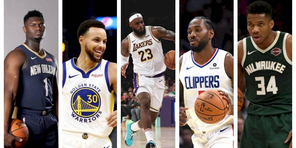 Todo lo que debes saber de la NBA 2019-20: jugadores a seguir, fechas clave y los grandes traspasos