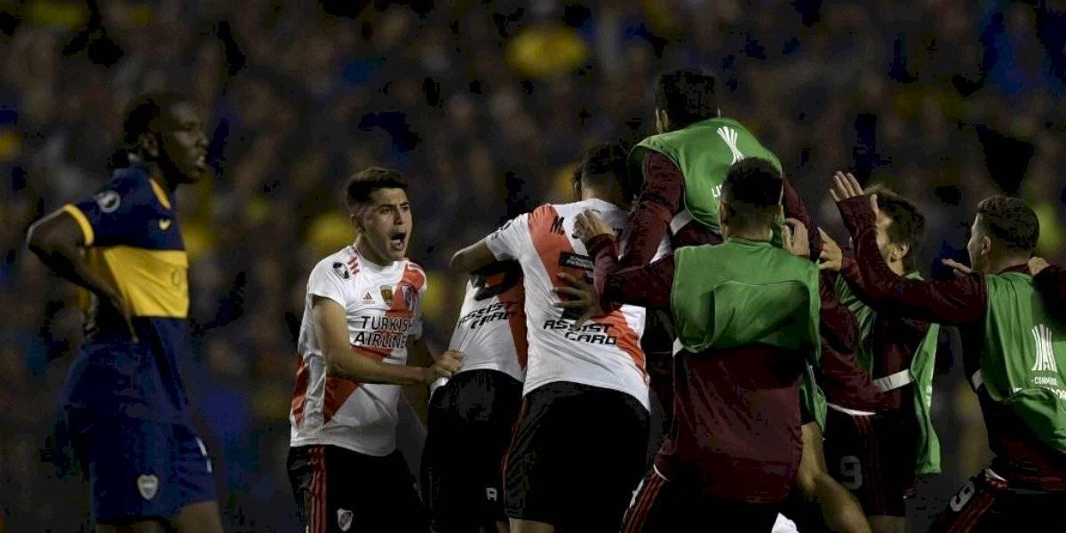 Libertadores: Boca Juniors derrota a River Plate pero no le alcanza para la final