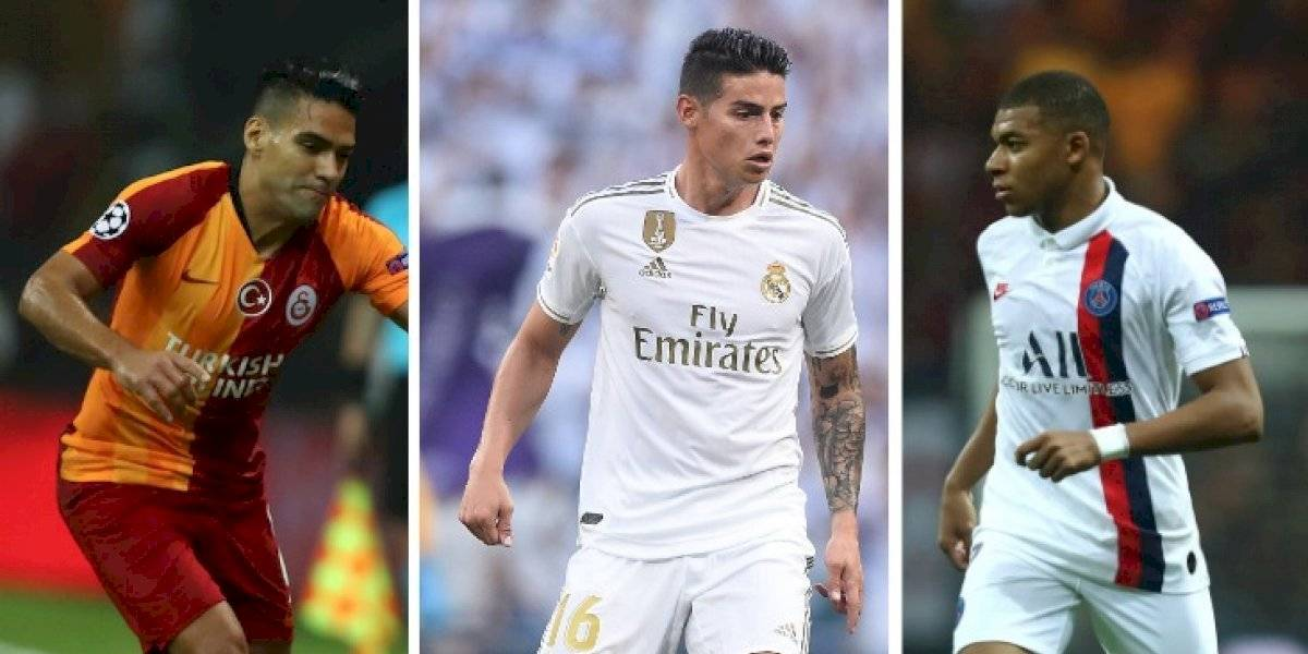 Tabla de posiciones del grupo A de la Champions 2019-20 ((PSG, Real Madrid, Brujas, Galatasaray))