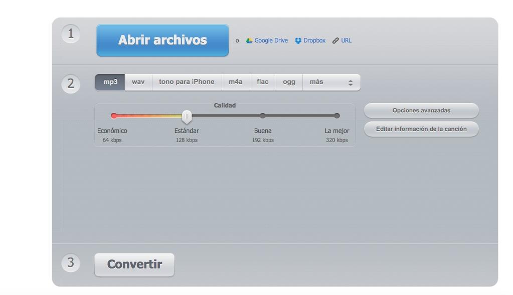 Online Audio Converter