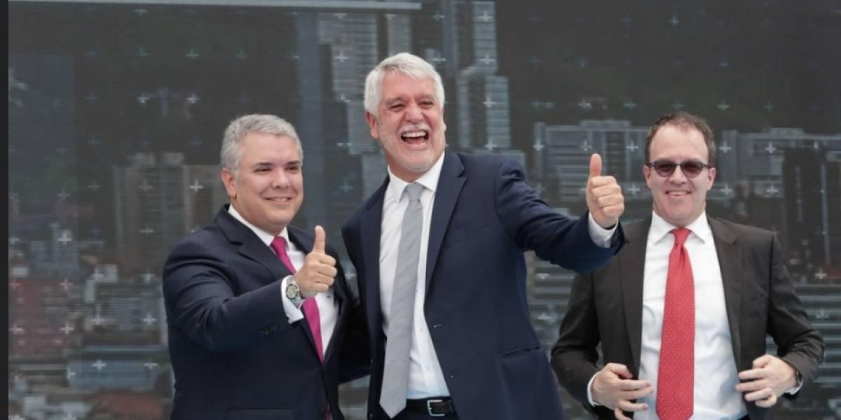 """Duque defiende licitación del metro de Bogotá: """"cambiará vidas"""""""