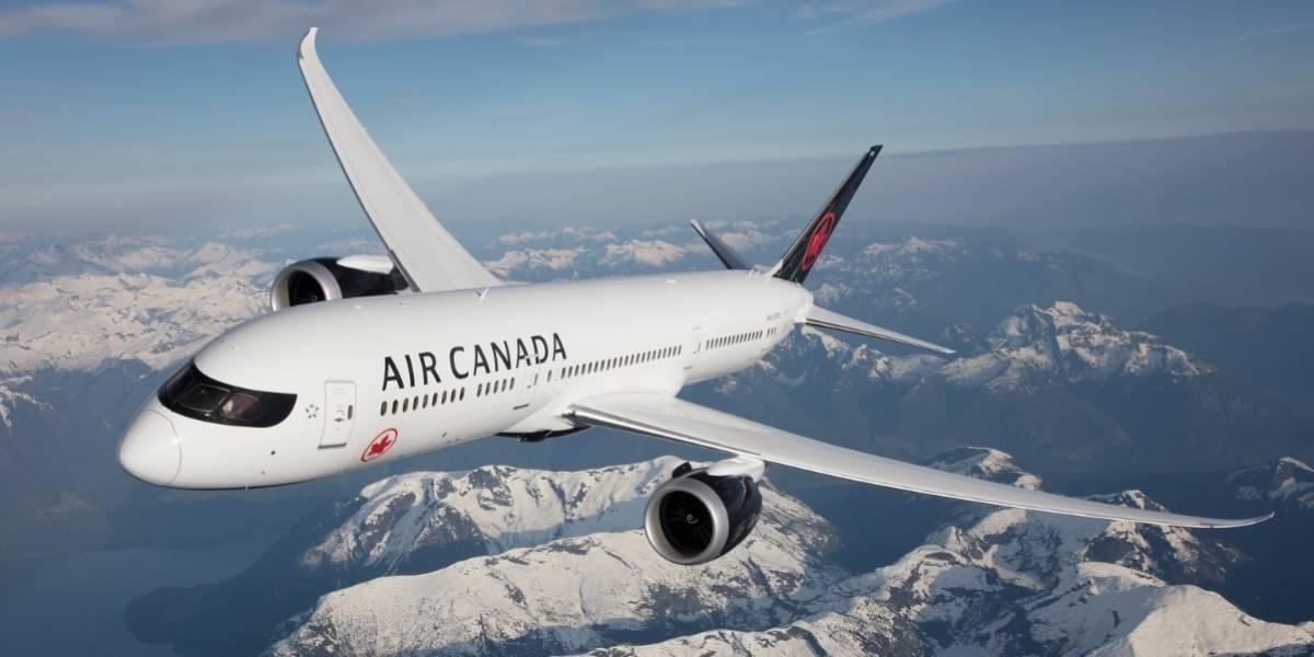 Términos y condiciones actividad Air Canadá