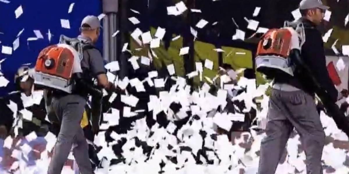 Copa Libertadores: 'Lluvia de papeles' retrasó el partido Boca Juniors vs River Plate