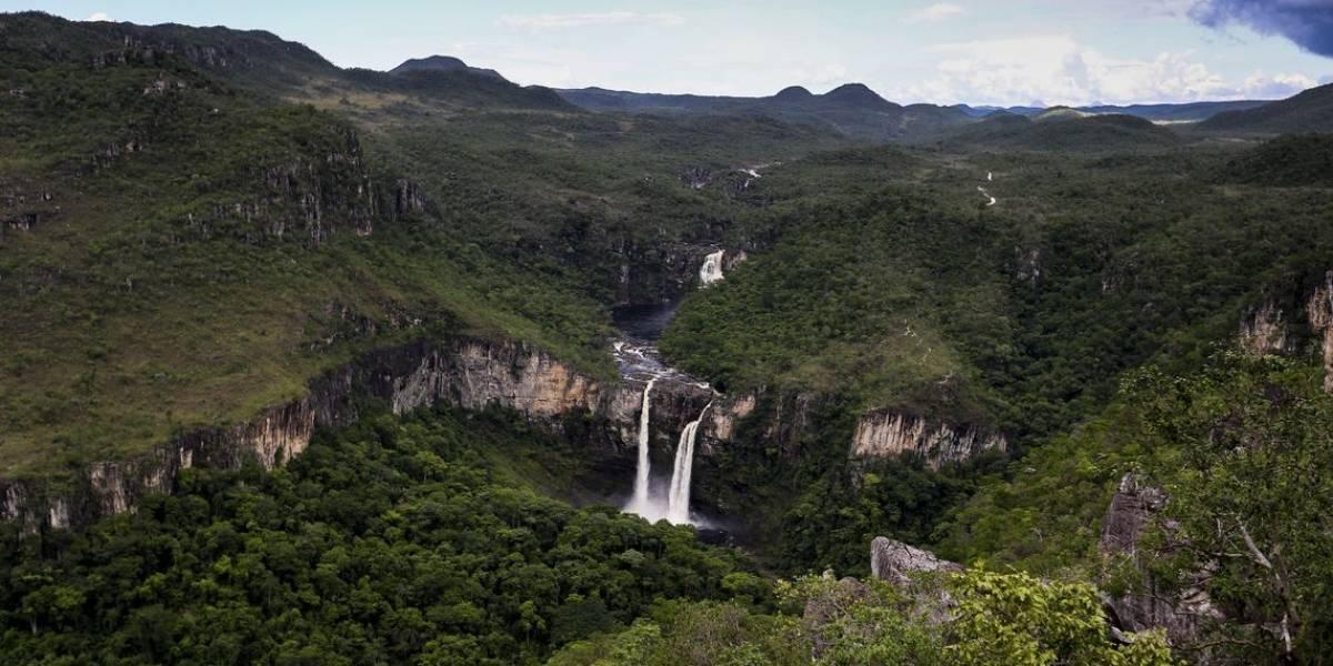 Bombeiros procuram por 5 turistas perdidos na Chapada dos Veadeiros