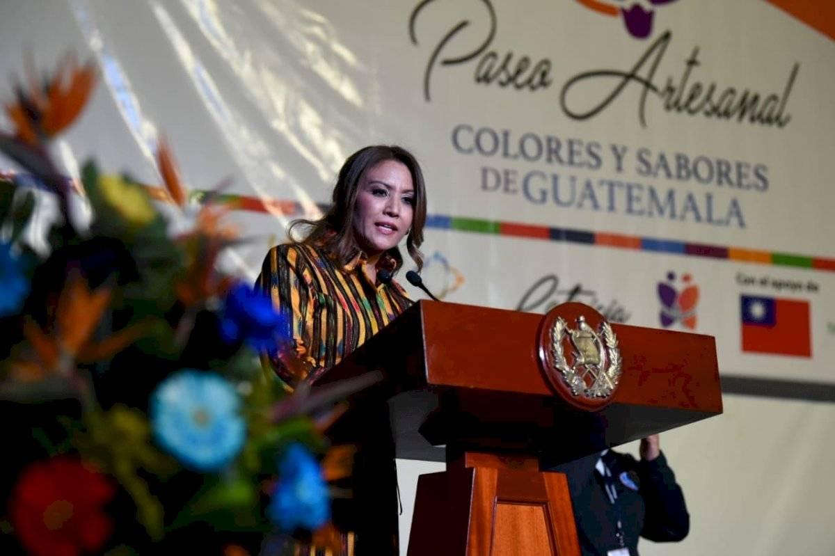 Patricia de Morales, esposa de Jimmy Morales