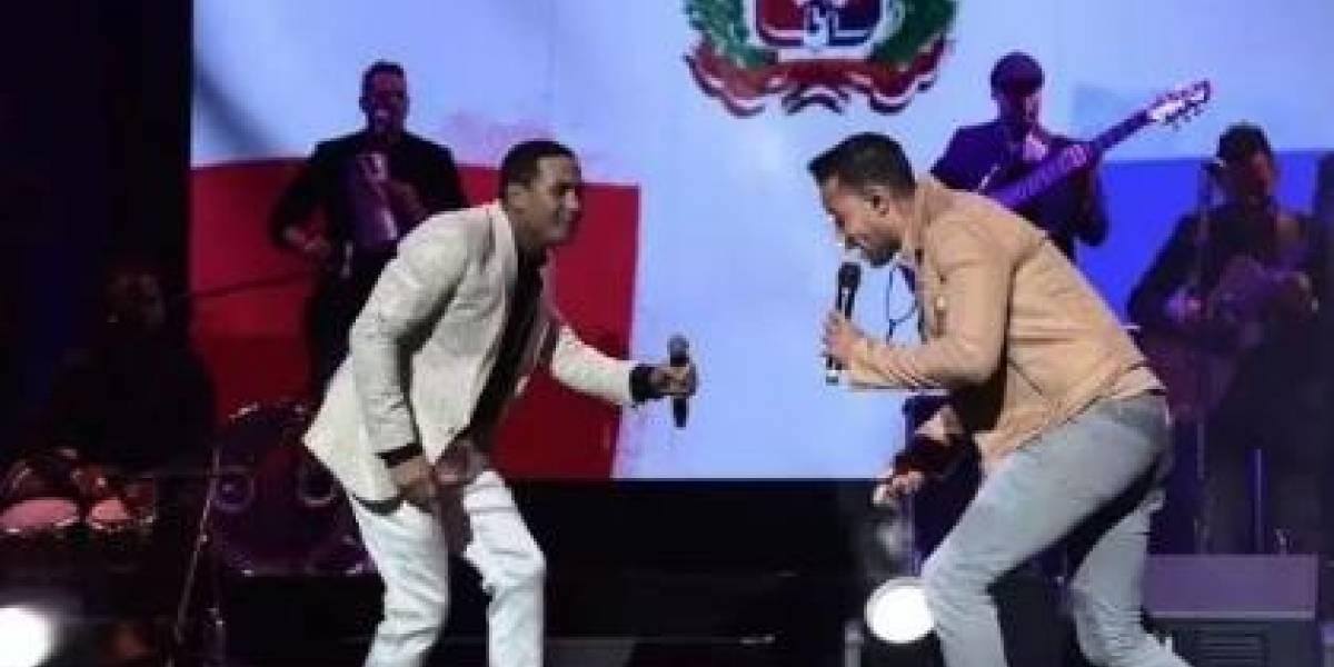 Raulín Rodríguez celebró concierto por 30 aniversario; Romeo fue la sorpresa
