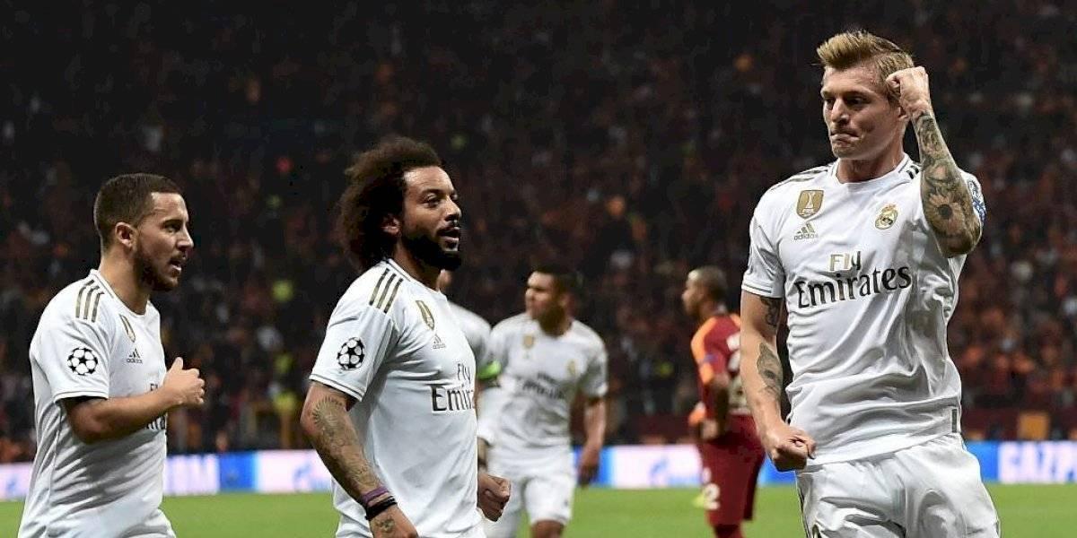 El Real Madrid suma su primera victoria en la Champions y es sublíder