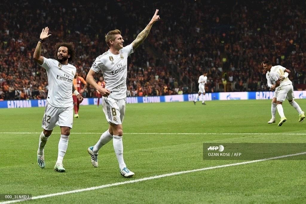 Resultado Galatasaray vs Real Madrid Champions League
