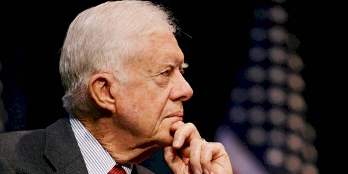 Jimmy Carter: Privilegiados deben luchar contra el racismo