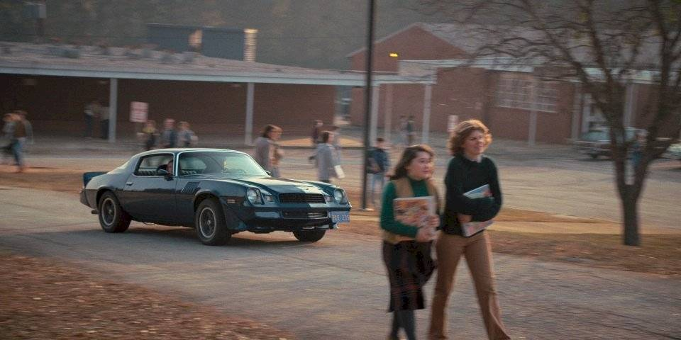 Stranger Things películas autos