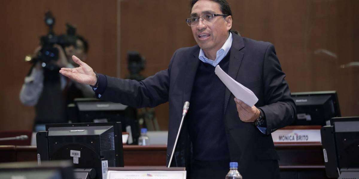 Virgilio Hernández es llamado a audiencia de vinculación en caso de rebelión durante protestas en Ecuador