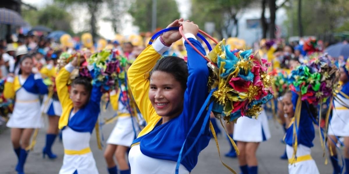 Estas son las vías cerradas por desfiles de Fiestas de Quito