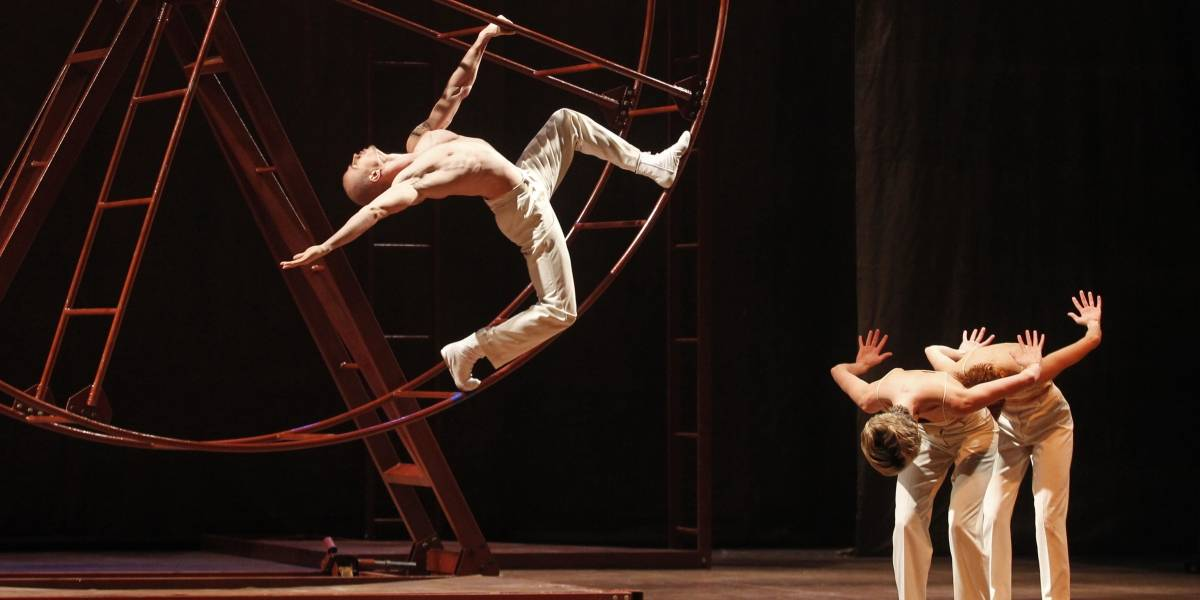 Criado em 1997, 'Rota', da Companhia Deborah Colker, encerra a 16ª Temporada do Teatro Alfa