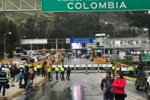 El puente de Rumichaca se cerrará por elecciones regionales de Colombia