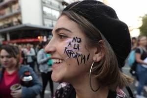 Masiva marcha en Uruguay en contra de la militarización en las calles
