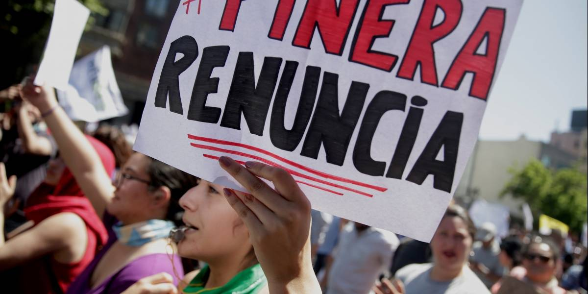 El centro de Santiago amanece sin custodia militar por primera vez en 5 días