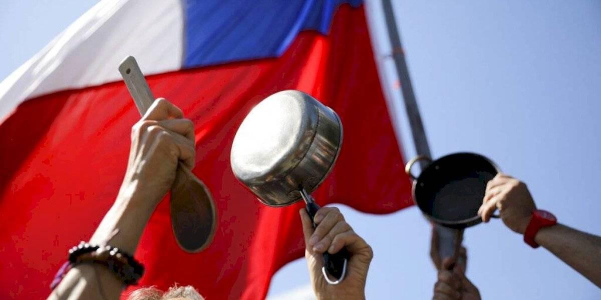 Multitudinaria manifestación en Chile por demandas sociales