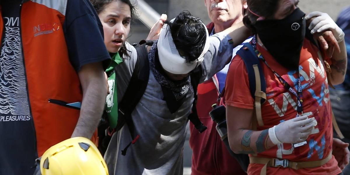 Represión a los manifestantes: llamados a ambulancias del SAMU de la RM se duplican