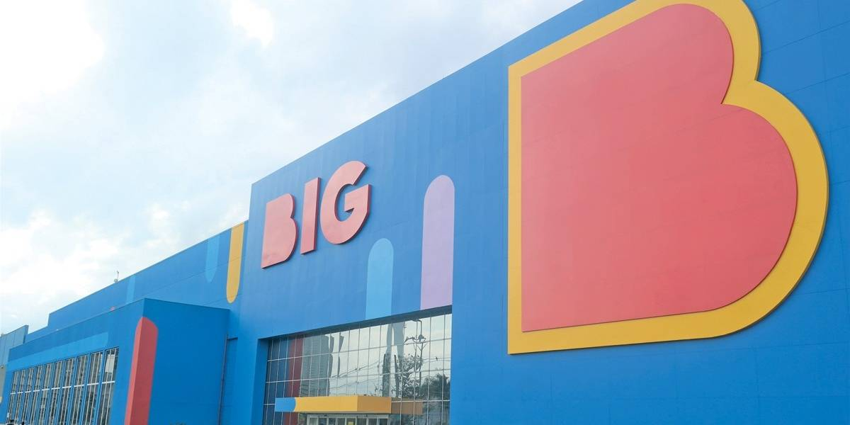 Rede Walmart de mercado passa a se chamar BIG em SP