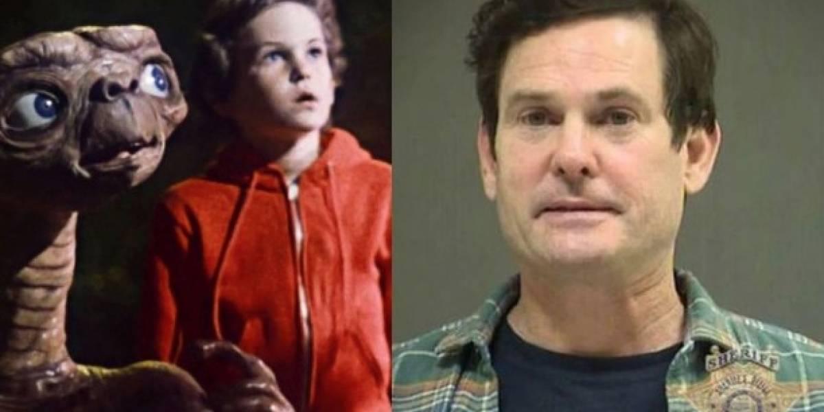 Protagonista de E.T. fue detenido por manejar en estado de embriaguez