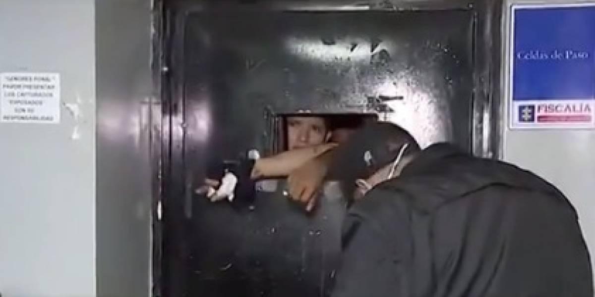 Más de 100 presos realizaron amotinamiento por hacinamiento dentro de URI