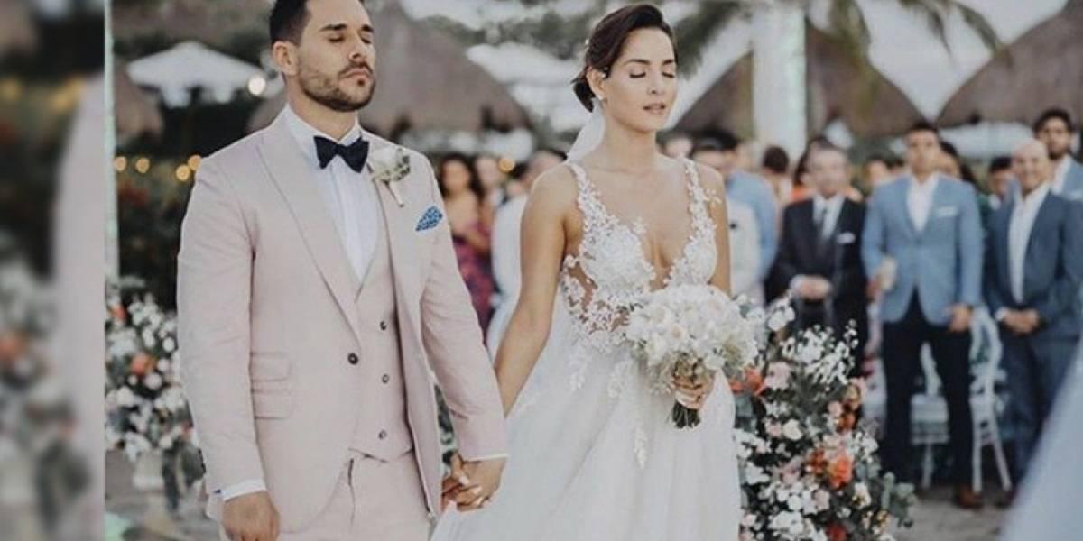 El triste momento que se vivió en la boda de Carmen Villalobos y que pocos conocieron
