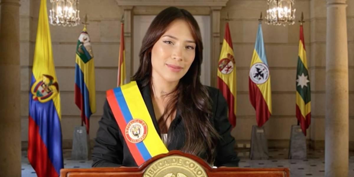 Luisa Fernanda W cuenta cómo sería su presidencia en video con Daniel Samper Ospina