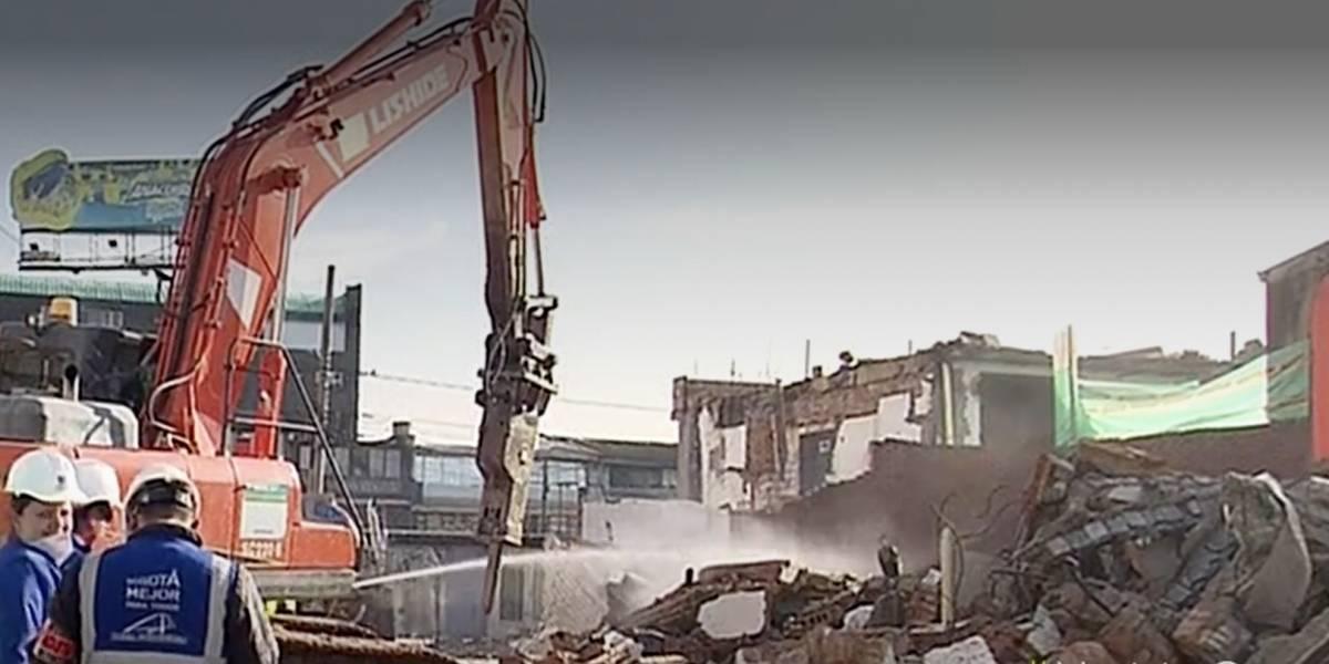 (VIDEO) Empiezan a demoler primeras casas para construcción del metro elevado