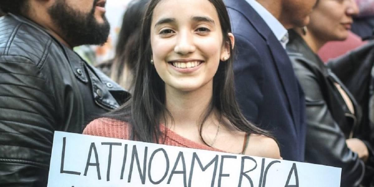 Chile tiene su propia Greta Thunberg y vive en la Patagonia