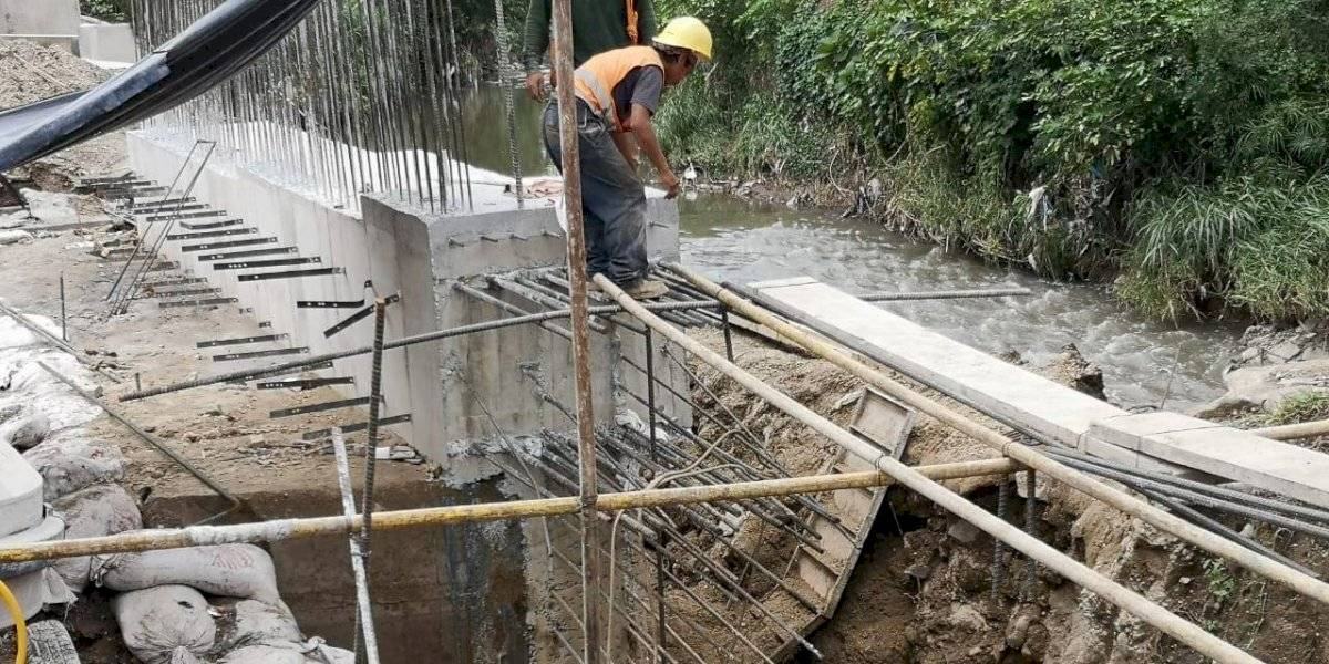 Avanzan en construcción de paso a desnivel en crucero Cuatro Caminos