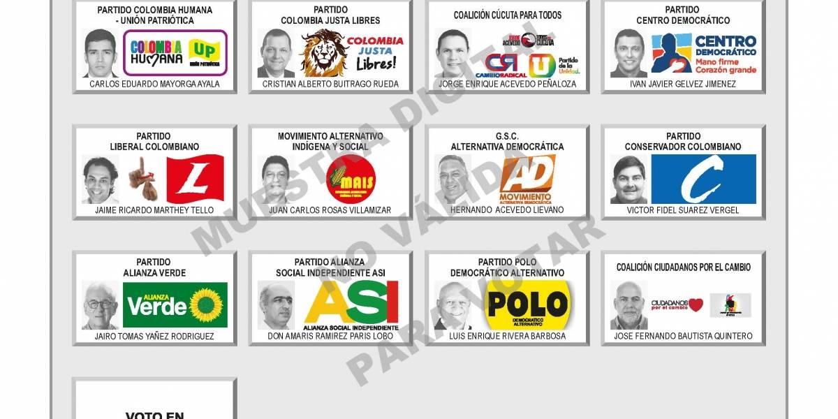 Siga en vivo las elecciones a la Alcaldía de Cúcuta
