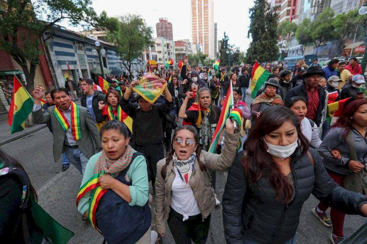 Bolivia inicia huelga indefinida ante posible triunfo de Evo Morales EFE