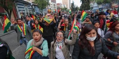 Bolivia inicia huelga indefinida ante posible triunfo de Evo Morales
