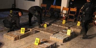 ecuatorianos capturados en el Pacífico con 959 kilos de droga
