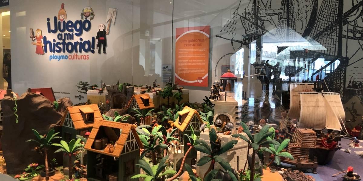Se despide la exposición ¡Juego a mi historia! Playmo culturas del Museo de Historia Mexicano